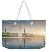 Golden Hamburg Weekender Tote Bag