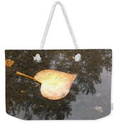 Golden Heart Weekender Tote Bag