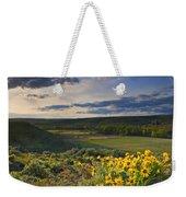 Golden Hills Weekender Tote Bag