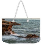 Golden Hour At Sunset Cliffs Weekender Tote Bag