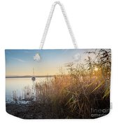 Golden Hour At The Lake Weekender Tote Bag
