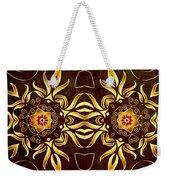 Golden Infinity Weekender Tote Bag