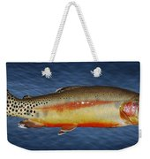 Golden Weekender Tote Bag