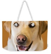 Golden Lab Weekender Tote Bag