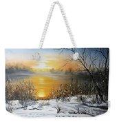 Golden Lake Sunrise  Weekender Tote Bag