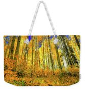 Golden Light Of The Aspens - Colorful Colorado - Aspen Trees Weekender Tote Bag