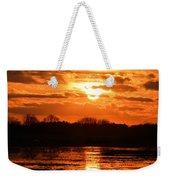 Golden Marsh Weekender Tote Bag