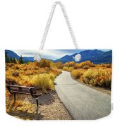 Golden Moments In Mammoth Weekender Tote Bag