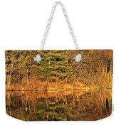 Golden Natural Light Weekender Tote Bag