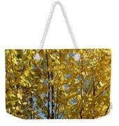 Golden October Weekender Tote Bag