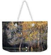 Golden On The River Weekender Tote Bag