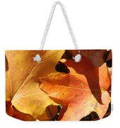 Golden Orange Weekender Tote Bag