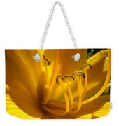 Golden Orange Lily Art Print Lilies Flowers Baslee Troutman Weekender Tote Bag