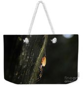 Golden Orb Spider Weekender Tote Bag