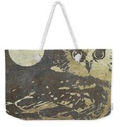Golden Owl Weekender Tote Bag