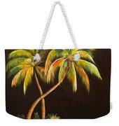 Golden Palms 2 Weekender Tote Bag