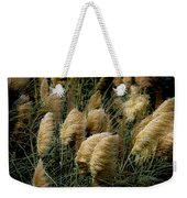 Golden Pampas In The Wind Weekender Tote Bag