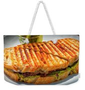 Golden Panini Weekender Tote Bag