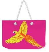 Golden Parrot Weekender Tote Bag