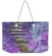 Golden Path Down To Rosslyn Glen Weekender Tote Bag