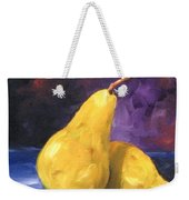 Golden Pears Weekender Tote Bag