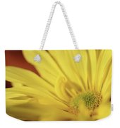 Golden Petals Weekender Tote Bag