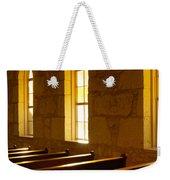 Golden Pews Weekender Tote Bag