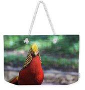 Golden Pheasant Weekender Tote Bag
