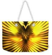 Golden Phoenix Weekender Tote Bag