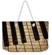 Golden Pianoforte Classic Weekender Tote Bag