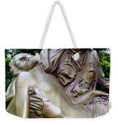 Golden Pieta Weekender Tote Bag