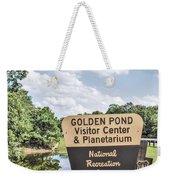 Golden Pond Visitor Center And Planetarium Weekender Tote Bag