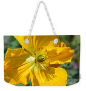 Golden Poppy Expose Weekender Tote Bag