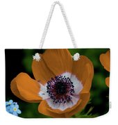 Golden Poppy Weekender Tote Bag