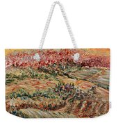 Golden Provence Weekender Tote Bag