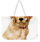 Golden Pup Weekender Tote Bag