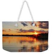 Golden Rays Weekender Tote Bag