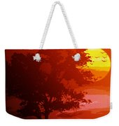 Golden Rays Of The Sun  Weekender Tote Bag