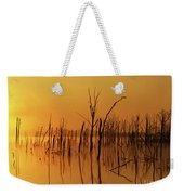 Golden Reflections Weekender Tote Bag