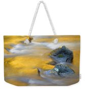 Golden Refuge Weekender Tote Bag