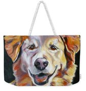 Golden Retriever Most Huggable Weekender Tote Bag