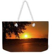 Golden Road Sunrise Weekender Tote Bag
