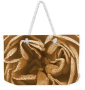 Golden Rose Weekender Tote Bag