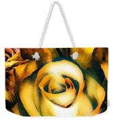 Golden Rose N Twilight Weekender Tote Bag