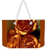 Golden Roses 3 Weekender Tote Bag