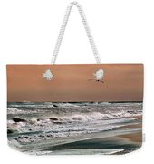 Golden Shore Weekender Tote Bag