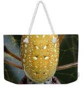 Golden Silk Spider 1 Weekender Tote Bag