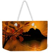 Golden Slumber Fills My Dreams. Weekender Tote Bag