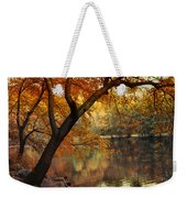 Golden Slumber Weekender Tote Bag