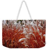 Golden Snow Weekender Tote Bag